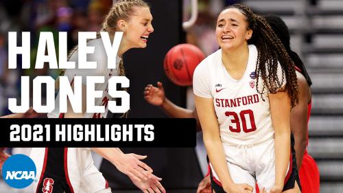 Haley Jones 2021 NCAA tournament highlights