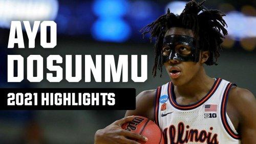 Ayo Dosunmu's top 2021 NCAA tournament highlights