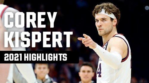 Corey Kispert's top 2021 NCAA tournament highlights