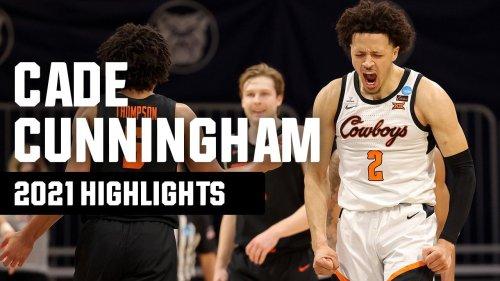 Cade Cunningham's top 2021 NCAA tournament highlights