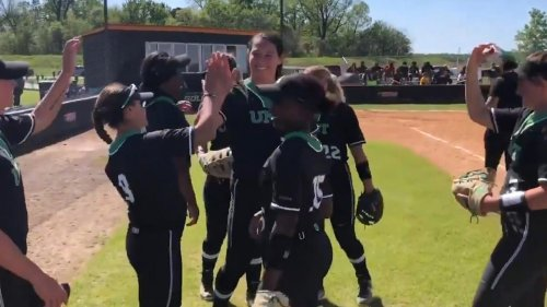 Watch: Hope Trautwein's perfect game headlines plays of the week
