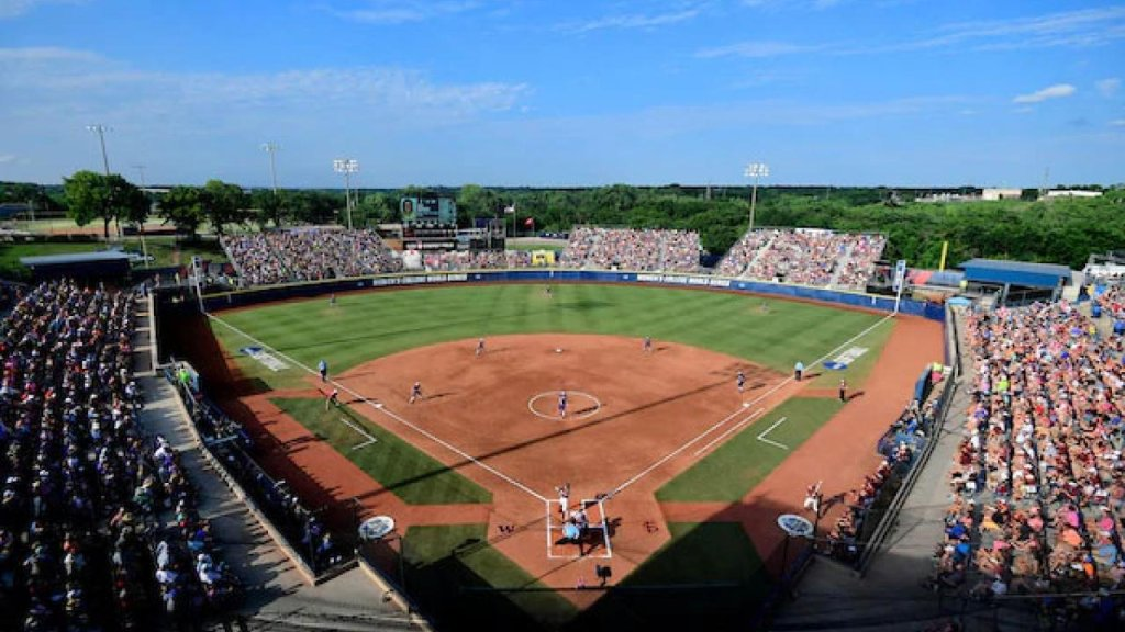 NCAA college softball and the Women's College World Series - cover