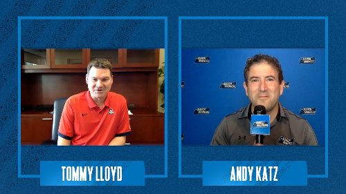 Tommy Lloyd joins Andy Katz to discuss his new position as head coach of the Arizona Wildcats