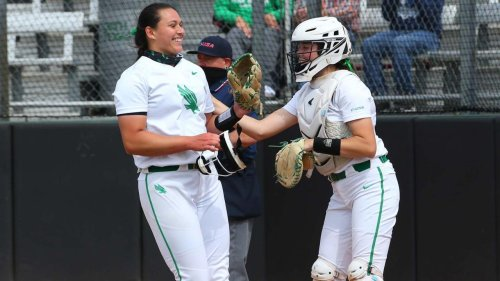 North Texas' Hope Trautwein makes softball history with one-of-a-kind perfect game