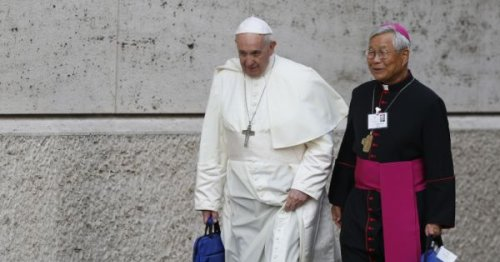 Francis names South Korean bishop as new head of Vatican's clergy office
