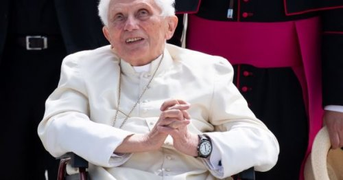 Retired Pope Benedict criticizes church in Germany, says mission obscured
