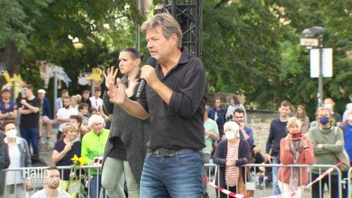 Bundestagswahl: Habeck wirbt um Stimmen für die Grünen