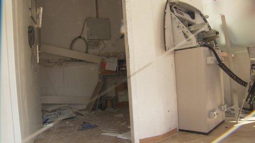 Nach Geldautomaten-Sprengung: Noch keine Spur von Tätern