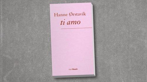 """ti amo"" von Hanne Ørstavik"