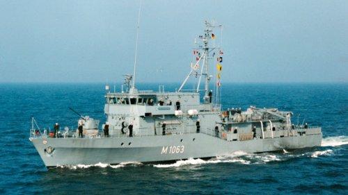 "Minenjagdboot ""Bad Bevensen"" verlässt Heimathafen Kiel"