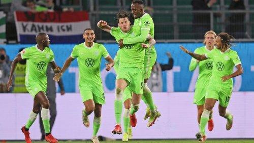 1:1 gegen Frankfurt - Weghorst rettet VfL Wolfsburg einen Punkt