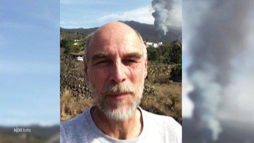Bremer Wissenschaftler erforscht Vulkanausbruch auf La Palma