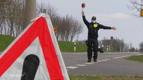 Polizei kontrolliert Einreise nach Vorpommern-Greifswald