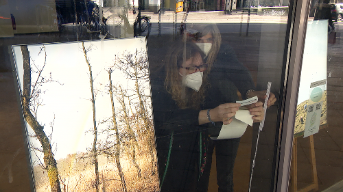 Lübeck: Aus leeren Schaufenstern werden Ausstellungsräume