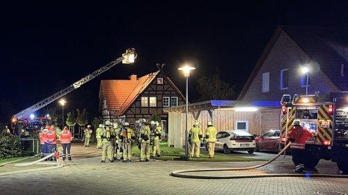 Nach Großbrand: Wieder brennt ein Haus in Schneeren