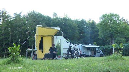 Auf Tour mit dem Camping-Bike: Die erste Tour