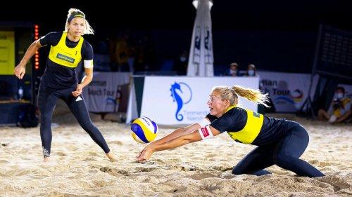Beachvolleyball-DM: Viertelfinal-Aus für Ludwig und Körtzinger