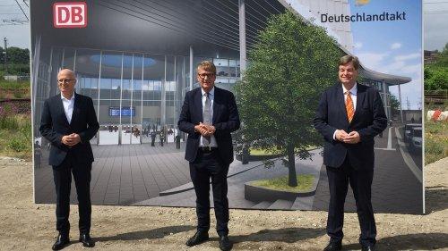 550 Millionen: Heute startet der Bau des Fernbahnhofs Diebsteich