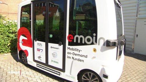 Autonome Busse in Bergedorf stoßen auf wenig Begeisterung
