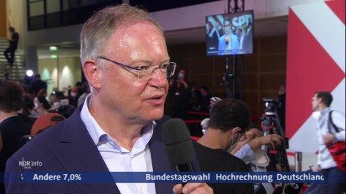 """""""Grandioser Erfolg für SPD"""": Nord-Reaktionen zur Bundestagswahl"""