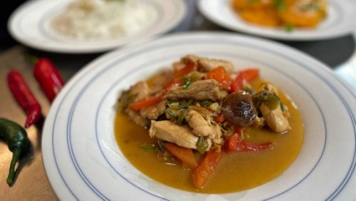 "Rezept ""Pikantes Hühnerfilet mit Gemüse aus dem Wok"" | NDR.de - Ratgeber - Kochen"