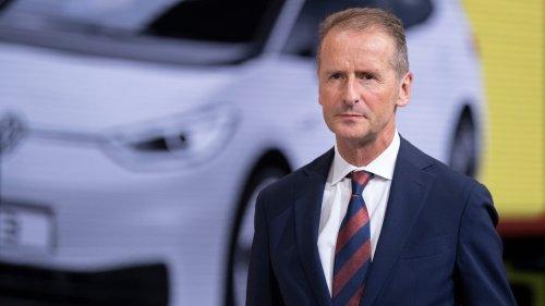 Nach Betriebsrats-Kritik: VW-Vorstand Diess kippt USA-Reise