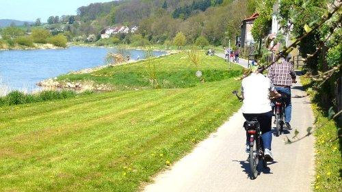 Weser-Radweg: Flusstour von Hann. Münden bis Cuxhaven