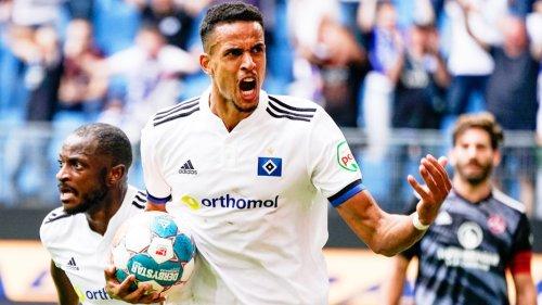 Hamburger SV spielt dank Glatzel 2:2 gegen Nürnberg