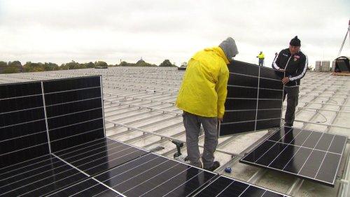 Hamburgs Solar-Offensive: Jetzt geht es los