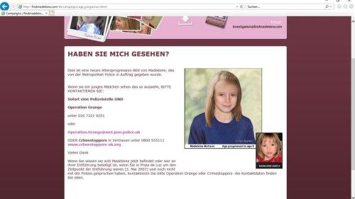 """Fall """"Maddie"""": Ermittlungen gegen Christian B. laufen weiter"""