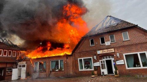 Neustadt am Rübenberge: Feuer zerstört Gasthaus