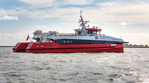 Katamaran soll Passagiere schneller nach Norderney bringen