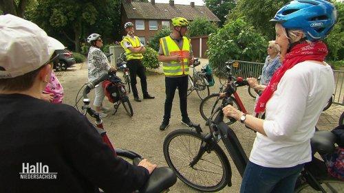 Radtour zum Thema Sicherheit für Seniorinnen