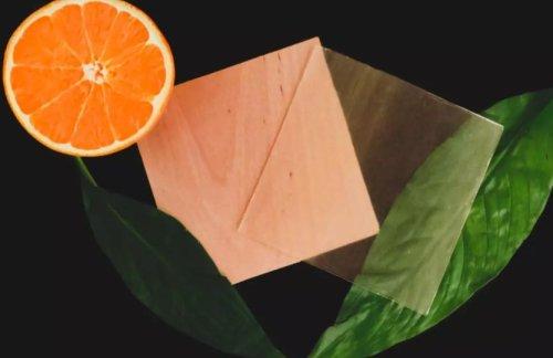 Orange Peel Used For Sustainable Wood