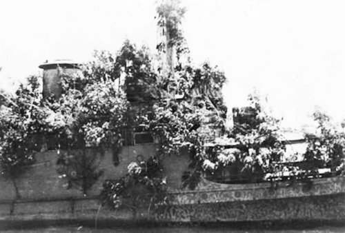 The Ship That Disguised Itself as an Island to Evade the Japanese in WWII
