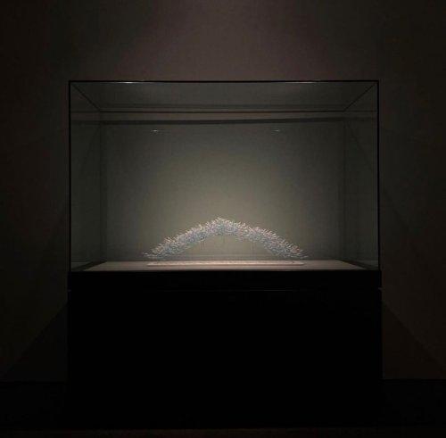 Miniature Origami Cranes by Naoki Onogawa