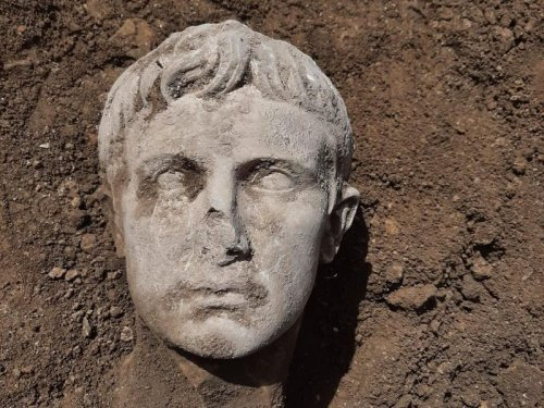 Marble Bust Of Rome's First Emperor Unearthed In Italy