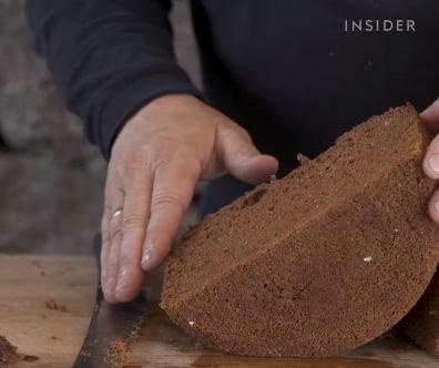 Volcanic Lava Bread