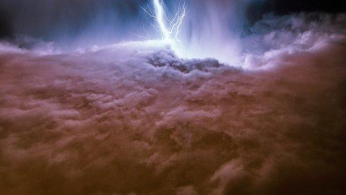 NASA Releases Images of Lightning Superbolts on Jupiter