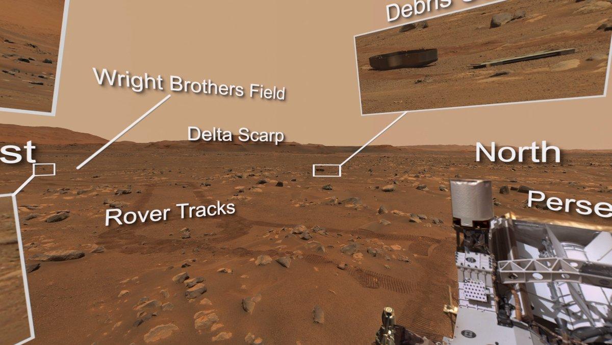 Explore Perseverance's Mars Highlights in 360-Degree Video - Nerdist