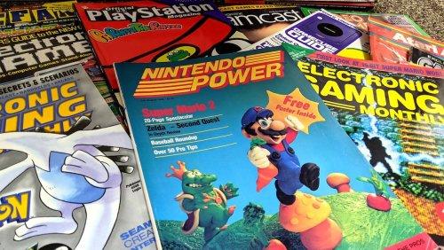 You Can Get Vintage Video Game Magazines Sent to Your Door - Nerdist