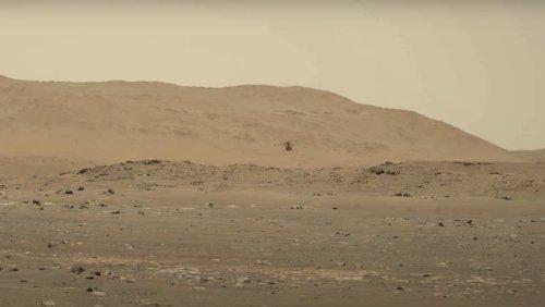 History! Perseverance Films Ingenuity Mars Flight With Audio - Nerdist