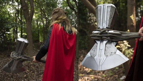 This Replica of Thor's Stormbreaker Axe Is Worthy of Asgard - Nerdist