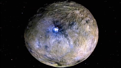 Salt Water Reservoir Discovered on Dwarf Planet Ceres - Nerdist