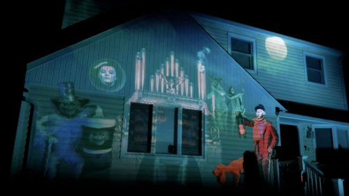 These Incredible Halloween Projection Shows Are Theme Park Worthy - Nerdist