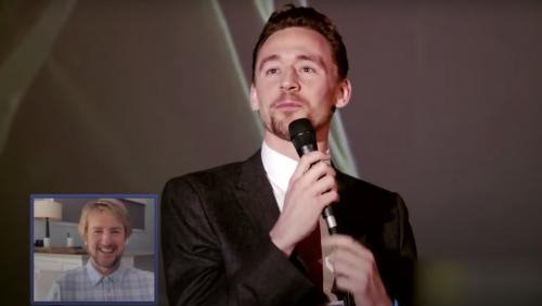 Owen Wilson Wowed by Tom Hiddleston's Impression of Him - Nerdist