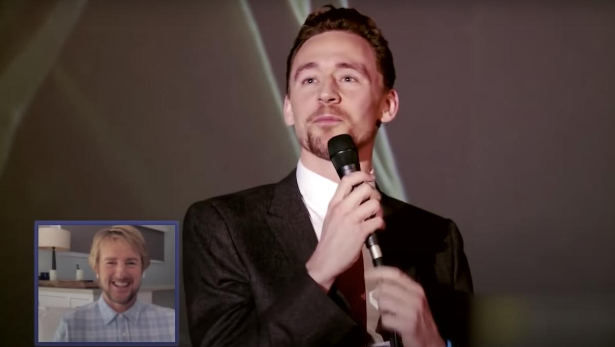 Owen Wilson Wowed by Tom Hiddleston's Impression of Him