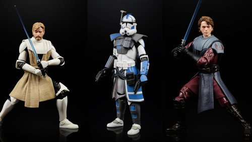 New STAR WARS Black Series Figures Spotlight CLONE WARS - Nerdist