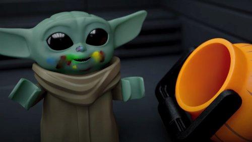 LEGO STAR WARS Halloween Shorts Are Festive and Adorable - Nerdist