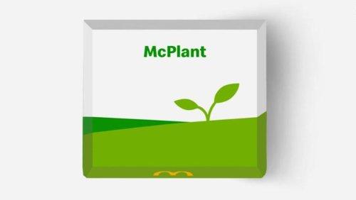 McDonald's Announces New Plant-Based McPlant Burger - Nerdist